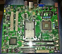 a computer motherboard
